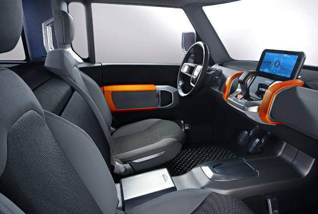 2019 Land Rover Defender Truck interior