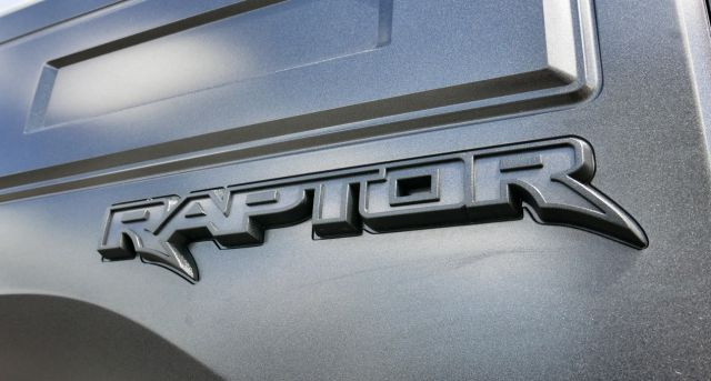 2020 Ford Raptor Plug-in Hybrid rear logo