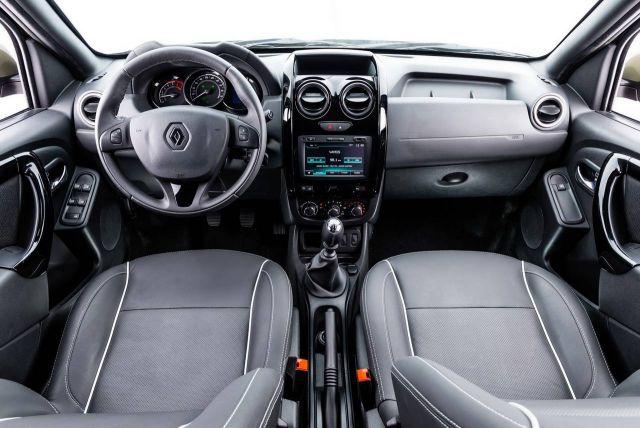 Dacia Duster Oroch interior