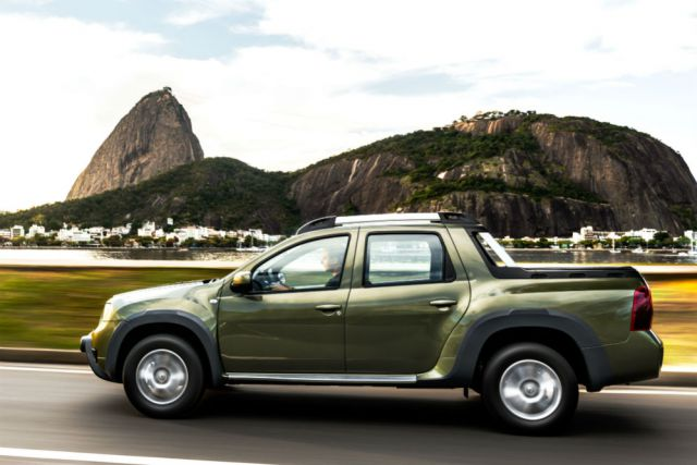 Dacia Duster Pickup Truck side view