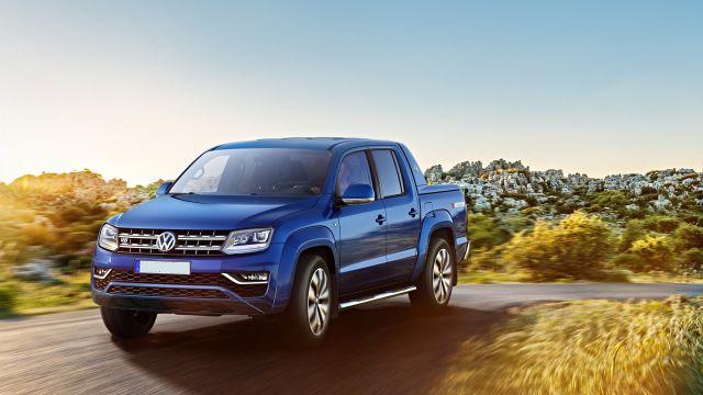 2019 VW Amarok front