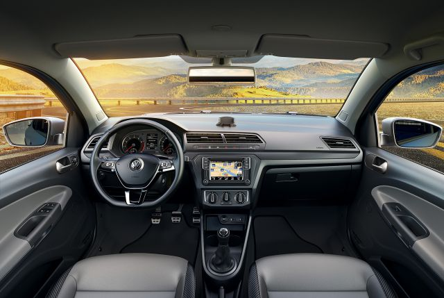 Volkswagen Saveiro interior