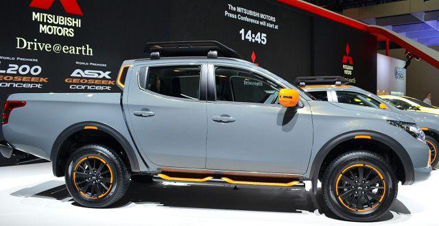 2018 Mitsubishi L200 side