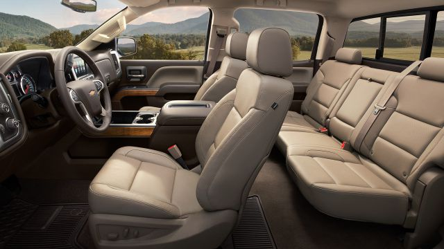 2019 Chevrolet Silverado 2500HD interior view