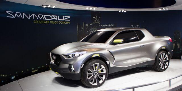 2019 Hyundai Santa Cruz front