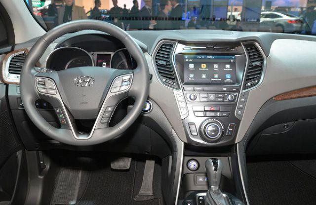 2019 Hyundai Santa Cruz interior