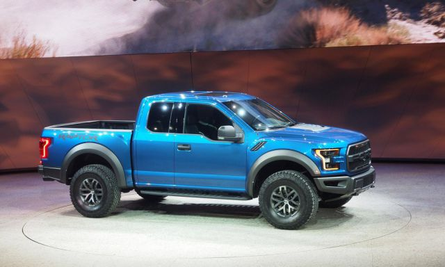 2020 Ford F-150 Raptor side