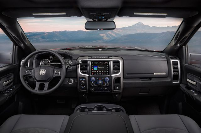 2020 Ram Power Wagon interior
