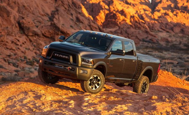 2020 Ram Power Wagon side