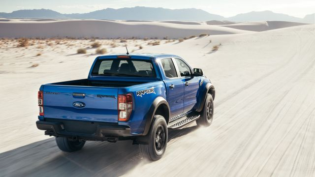 2019 Ford Ranger Raptor rear