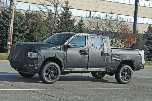 2019 RAM 3500HD side