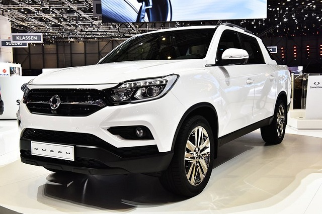 2019 SsangYong Musso front