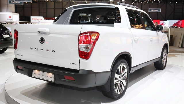 2019 SsangYong Musso side