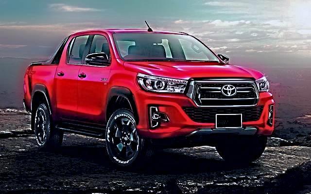 2019 Toyota Hilux Invincible X exterior