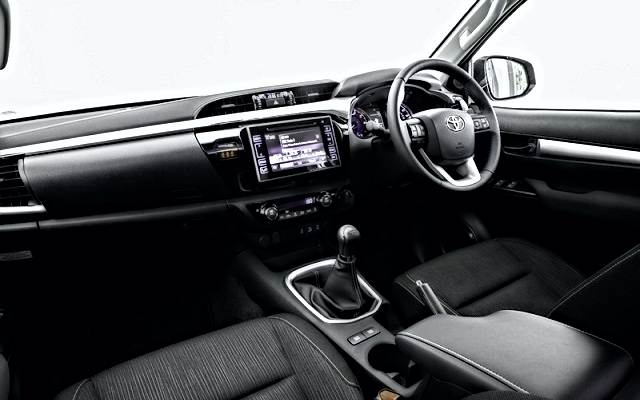 2019 Toyota Hilux Invincible X interior