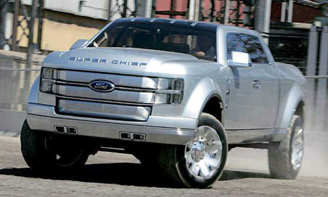 2019 Ford F-250 Super Chief Concept