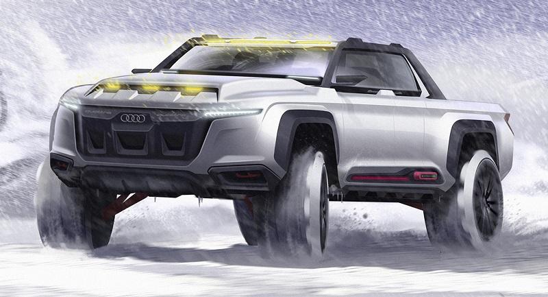 2021 Audi Pickup Truck