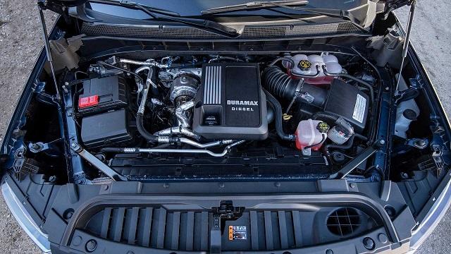 2021 Chevy Silverado 1500 diesel