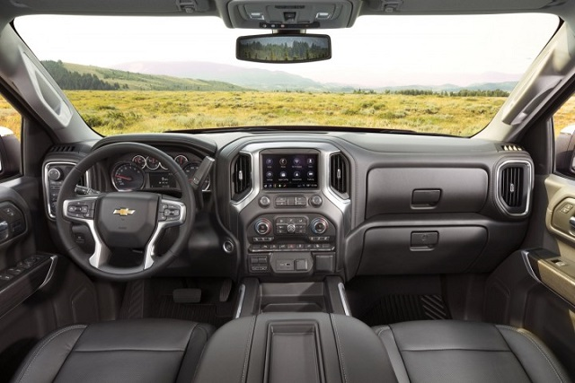 2021 Chevy Silverado 1500 interior