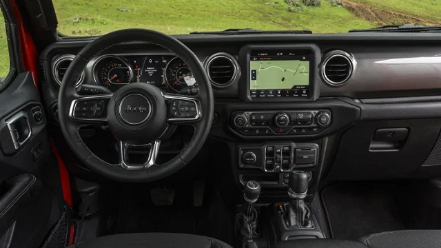2021 Jeep Gladiator EcoDiesel interior