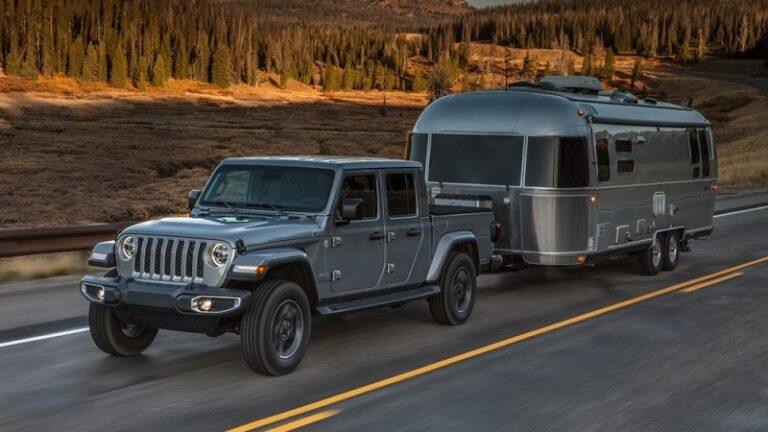 2021 Jeep Gladiator EcoDiesel towing capacity
