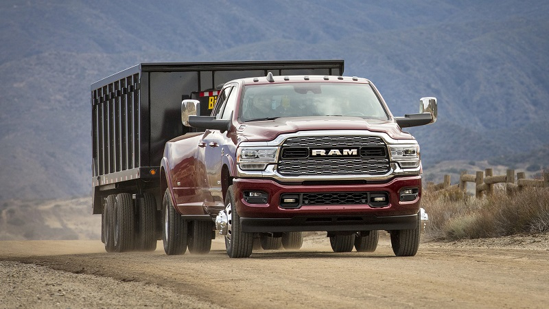 2021 RAM 3500 1,000 lb-ft of torque