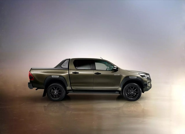 2021 Toyota HiLux changes