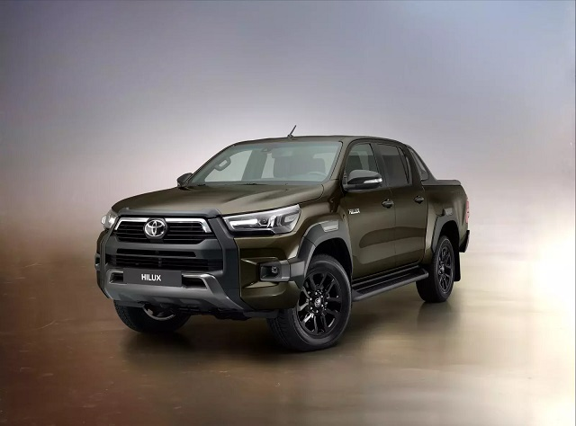 2021 Toyota HiLux redesign