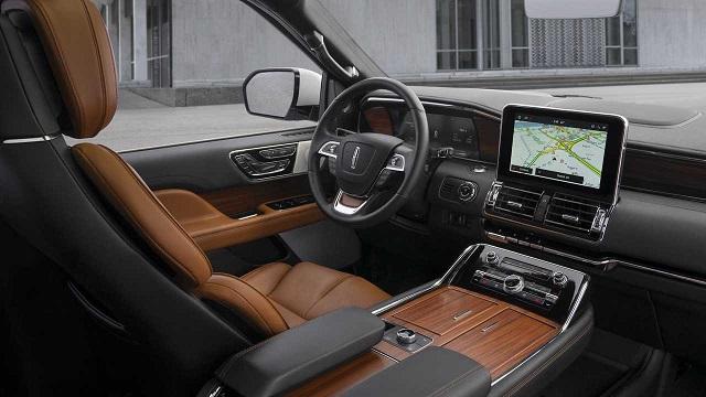 Lincoln Mark LT interior