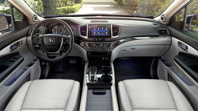 2021 Honda Ridgeline Hybrid interior