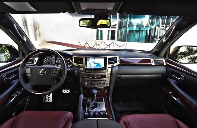2021 Lexus Truck interior