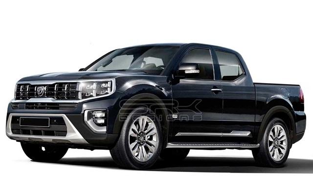 2022 Kia Mohave-Based Pickup Truck