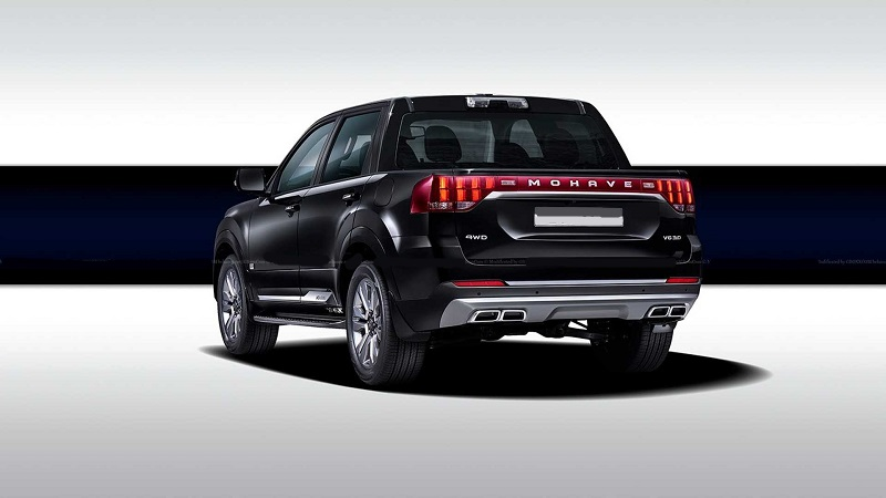 2022 Kia Mohave-Based Pickup
