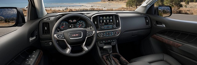 2021 GMC Canyon denali interior