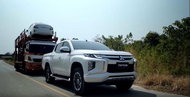 2021 Mitsubishi Triton towing capacity