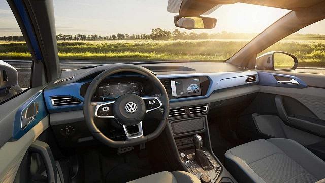 2021 VW Amarok interior