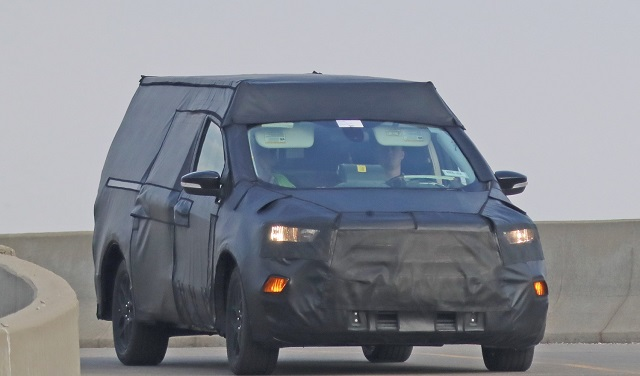 2022 Ford Courier spied