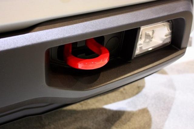 2021 Chevy Silverado Redline Edition tow hook