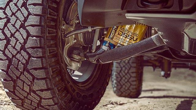 2022 Chevy Colorado ZR2 suspension