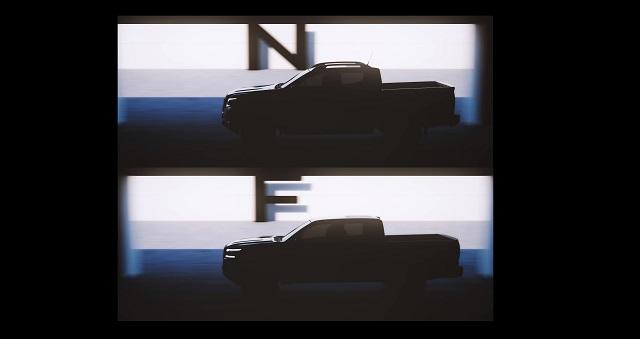2022 Nissan Navara teaser