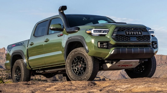 2022 Toyota Tacoma TRD Pro release date