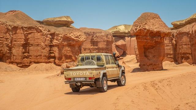 Toyota Land Cruiser Namib Edition release date