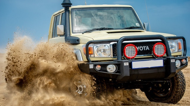 Toyota Land Cruiser Namib Edition truck