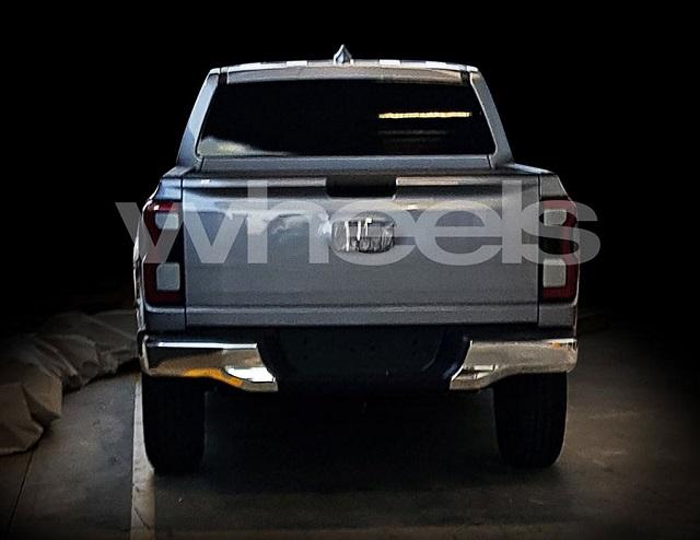 2022 Ford Ranger leaked images