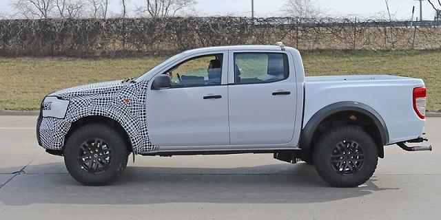 2022 Ford Ranger spied