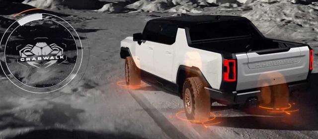 2022 GMC Hummer EV crabwalk