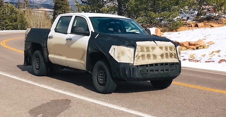2022 Toyota Tundra prototype