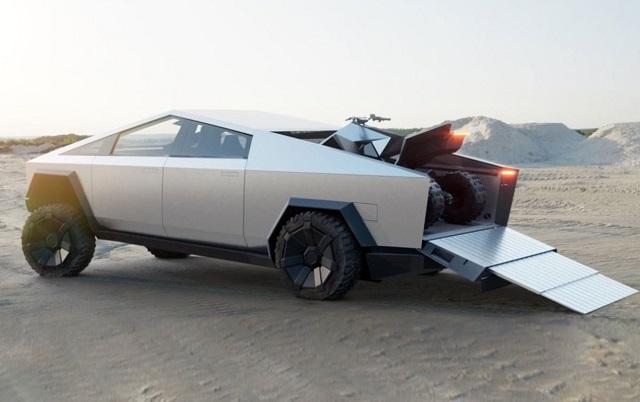 2022 Tesla Cybertruck towing capacity