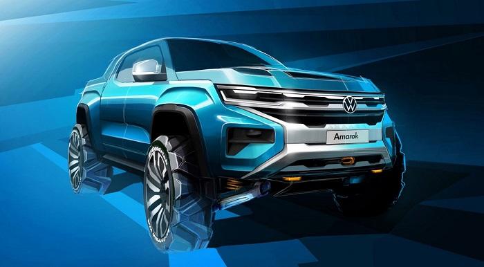 2022 Volkswagen Amarok rendering
