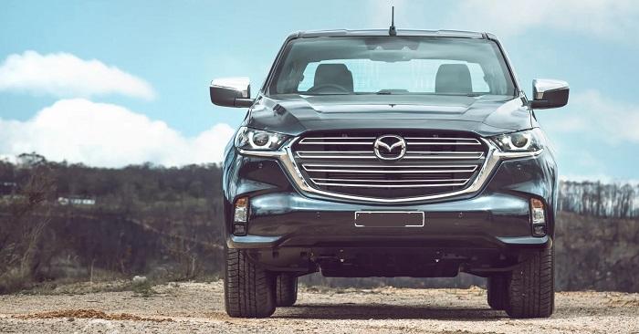 2022 Mazda BT-50 facelift